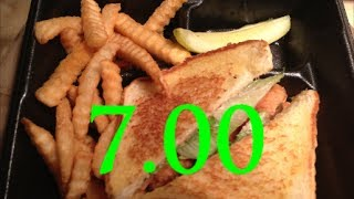 Zaxby's Review - Chicken Club Basket