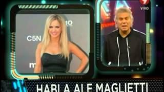 Alejandra Maglietti cuenta su verdad