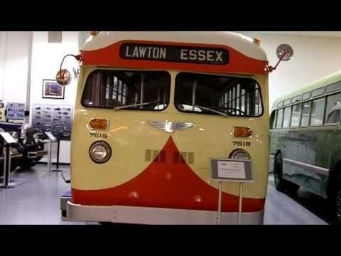 Sneak Peek At The Museum Of Bus Transportation In Hershey Youtube