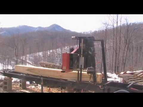 Timber King 1200 Band Saw Mill Youtube
