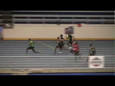 Marvin Bracy - High School National Record 6.08 55 Meters - Jimmy Carnes 1-29-2012