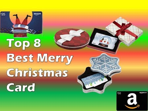 Top 8  Best Merry Christmas Card / Amazon Gift Card Review
