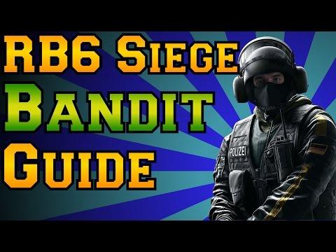 Rainbow Six Siege - Bandit Guide