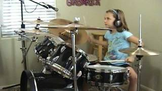"Collective Soul ""Burn"" a Drum Cover by Emily"