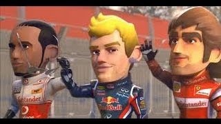 F1 Race Stars | PS3 | Gameplay