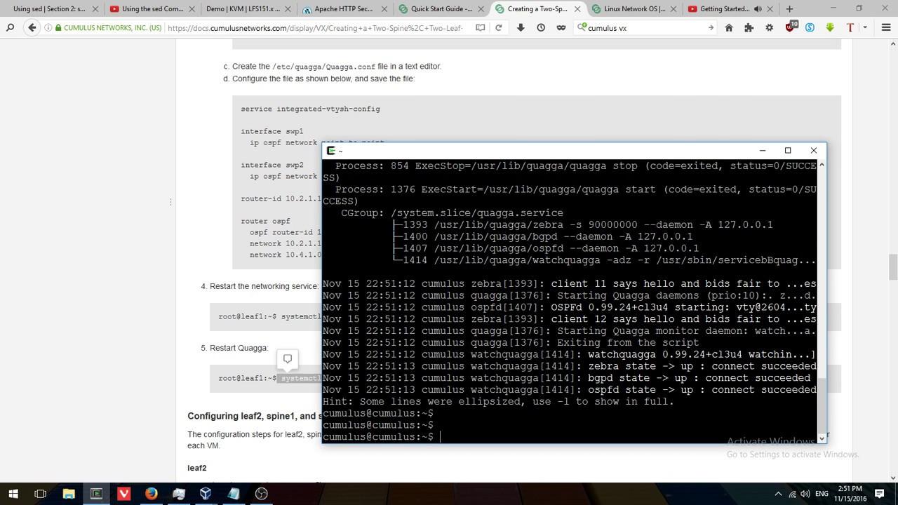 Использование Cumulus VX 3 1 2 с VirtualBox 5 1 8