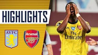 HIGHLIGHTS | Aston Villa 1-0 Arsenal | Premier League