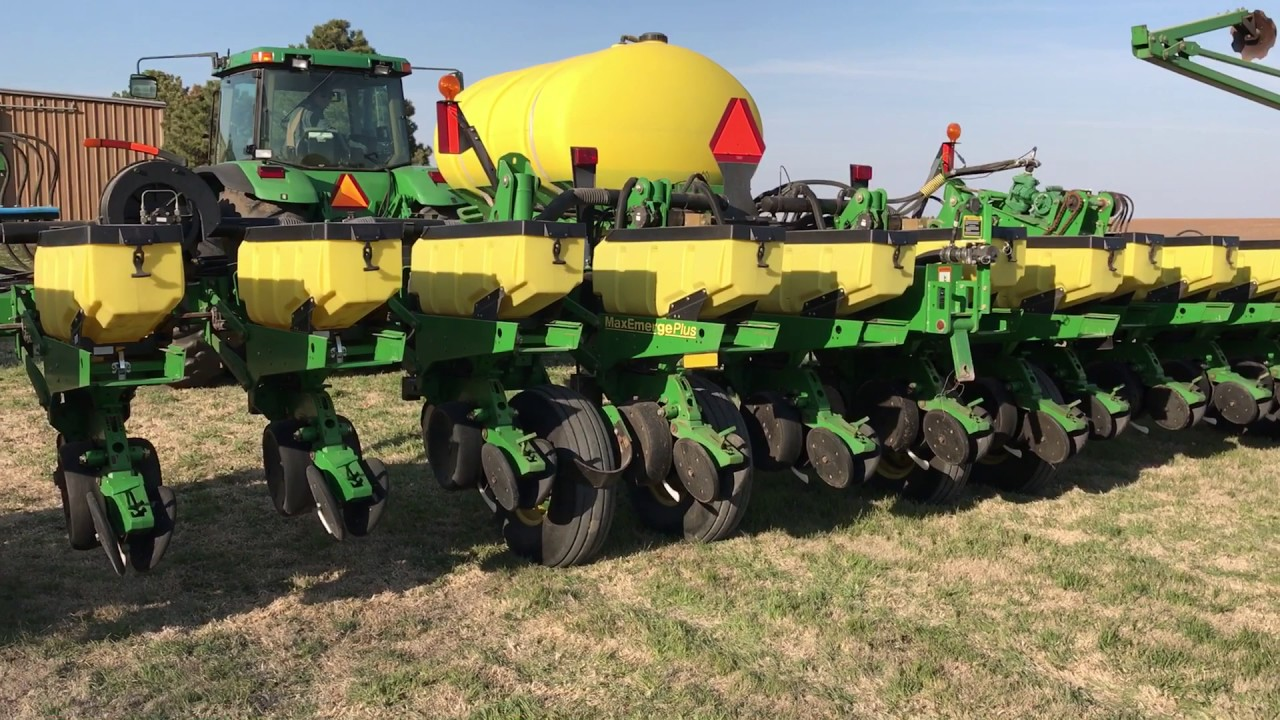 2002 John Deere 1770nt 16r30 Maxemerge Plus Planter Youtube