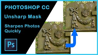 Photoshop CC | Sharpen your photos with Unsharp Mask