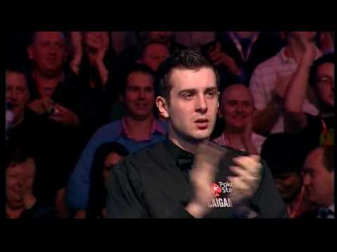 Snooker - Ronnie has a hissy fit, Selby wins & Ronnie Wood looks on (17.1.10)