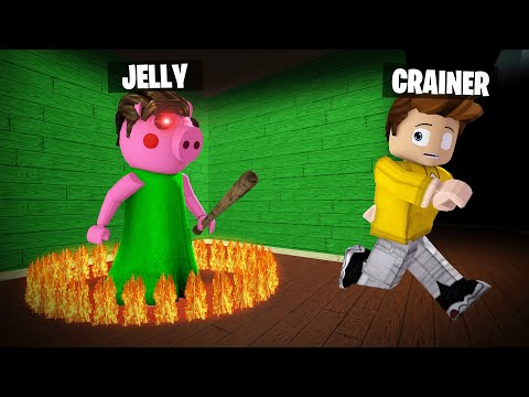 I TRAPPED JELLY And ESCAPED In PIGGY! (Roblox)