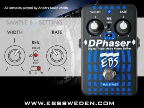 EBS DPhaser Sound Samples