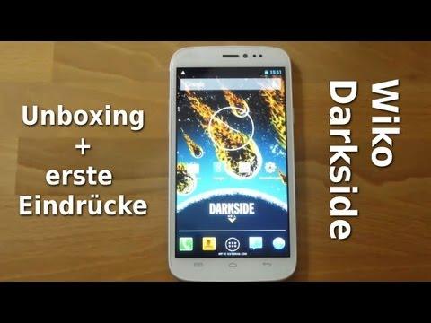 Wiko Darkside - Unboxing und erste Eindrücke - www.technoviel.de