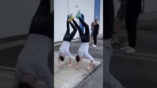 New shoes / Funny video / TwinsFromRussia tiktok #shorts