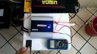 SD1500 teste em 4 ohms