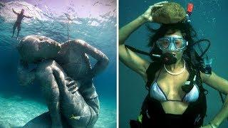 7 САМЫХ ТАИНСТВЕННЫХ ГОРОДОВ, по улицам которых гуляют только дайверы в аквалангах и акулы