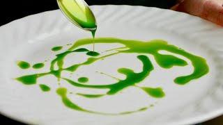 Vibrant Green Oil For Plating