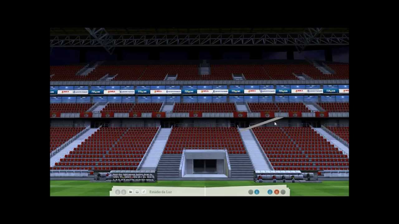 Fm virtual stadium tour est dio da luz s l benfica for Piso 0 estadio da luz