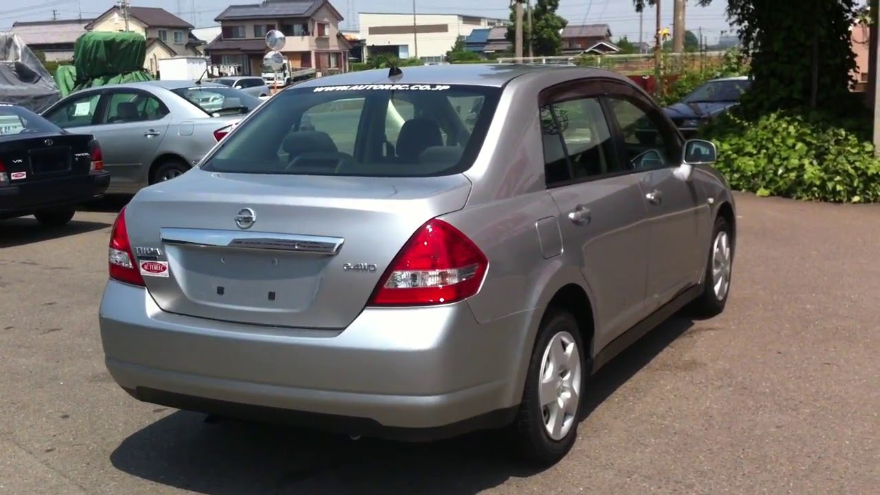 Nissan Tiida Latio  Saloon Type  Sold To Kenya