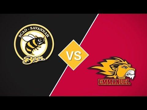 02 14 SCAD Bees vs Emmanuel Lions