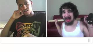 Miley Cyrus   Wrecking Ball Chatroulette Version