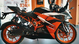 KTM RC 200 Review|| Entry level Racer|| ABS coming soon|| Mileage|| Price