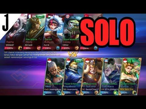 SOLO RANK LAGI(AURORA GAMEPLAY) | MOBILE LEGEND Indonesia