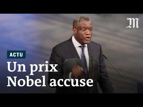 Prix Nobel de la paix 2018 : Denis Mukwege accuse