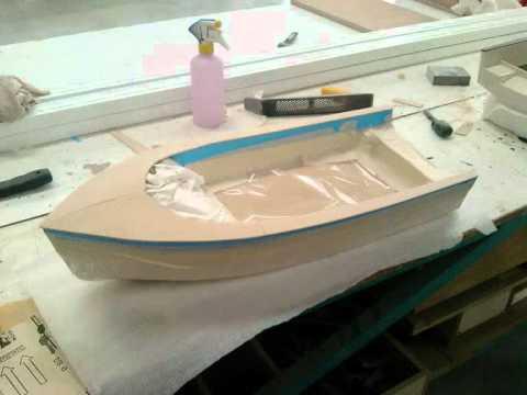 Maqueta barco escala 1 10 by porta youtube - Barca porta bote ...