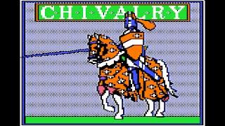Chivalry walkthrough (Apple II - Weekly Reader Family Software)