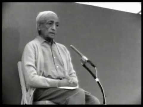 Why do you have schools and foundations? And why do you speak? | J. Krishnamurti
