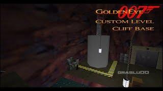 GoldenEye 007 N64 - Cliff Base - 00 Agent (Custom level)