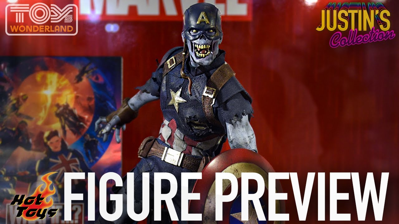Hot Toys Captain America Zombie Marvel's What If - Figure Preview Episode 121