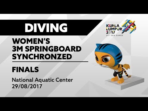 KL2017 29th SEA Games | Diving - Women's 3m Springboard Synchronized FINALS | 29/08/2017