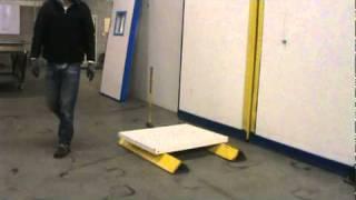 flex panel cold storage doors f2 series mpg