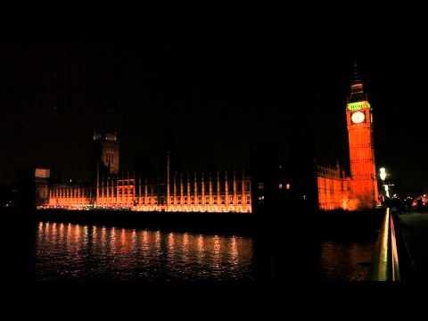 Earth Hour 2014 B-ROLL 11 France, Latvia, England, Palestine Territories & Macedonia.