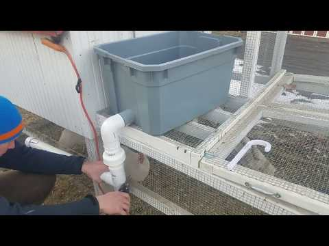 FREEZE PROOF CHICKEN WATERER