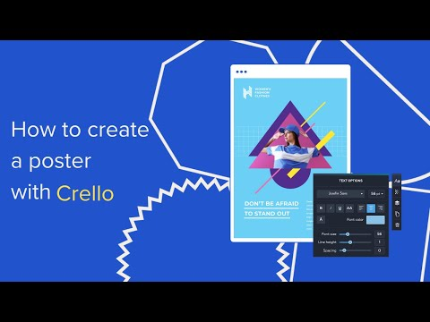 How To Create A Poster With Crello