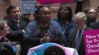 New York State Senate Democratic News Conference: GENDA - 1/15/19