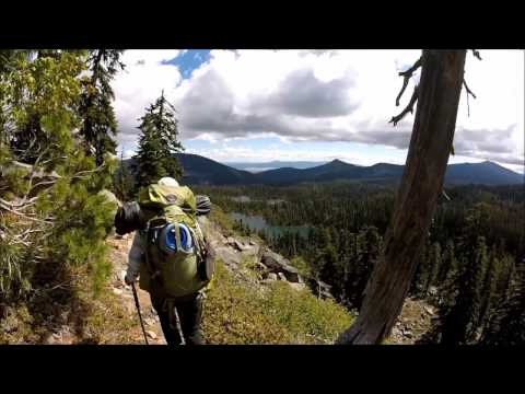 Pacific Crest Trail Oregon Hwy 140 to Crater Lake