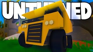 Unturned: ITEMS FROM THE NEW MAP IN GAME FILES! (New Dump Truck, Structures, Location Hints)