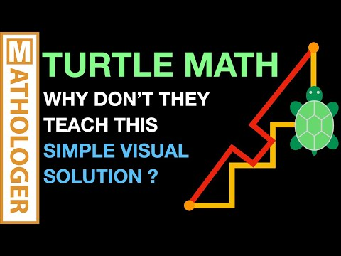 Solving EQUATIONS by shooting TURTLES with LASERS