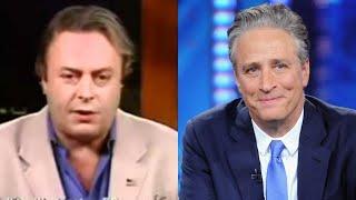 Christopher Hitchens CLASH WITH Jon Stewart In HEATED Argument