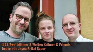 """Zwei Männer 3 Welten"" – Krömer & Friends mit Jasna Fritzi Bauer"