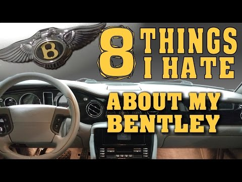 8 Things I Hate About My Bentley   Owning A Bentley Arnage - Video 8