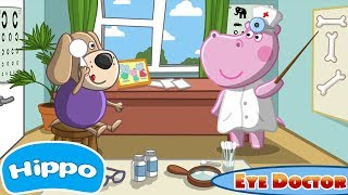 Гиппо 🌼 Детская больница 🌼 глазной врач 🌼 Мультик игра для детей (Hippo)
