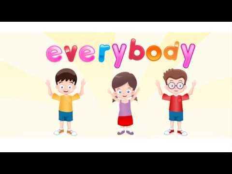 Okul Öncesi ilköğretim İngilizce Çocuk Şarkıları open close everybody  pre-school english song