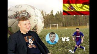 Человек сидящий напротив Артем Дергунов О поездке в Испанию лужском футболе тренерстве и не только