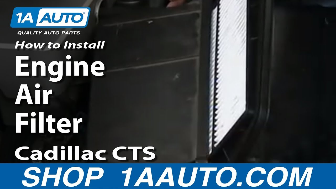 maxresdefault how to install replace engine air filter 2003 10 cadillac cts 2004 cadillac cts coil pack wiring diagram at cos-gaming.co