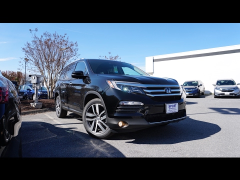 2017 Honda Pilot Elite AWD | Review